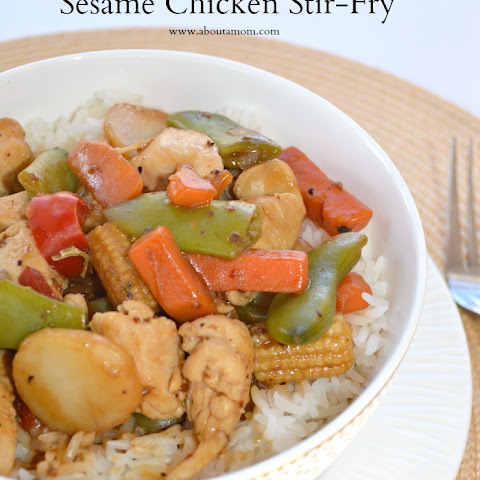 Better Than Take-Out Sesame Chicken Stir-Fry