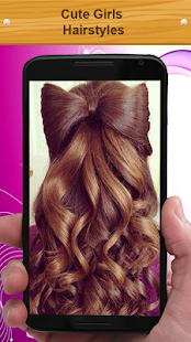 Cute Girls Hairstyles - screenshot