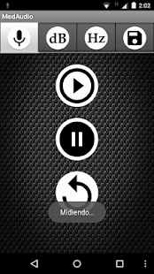 MedAudio - screenshot