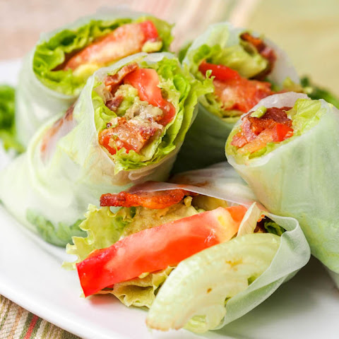 BLT Summer Rolls with Avocado {GF, DF}