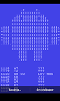 Screenshot of C64 ASM LWP simple
