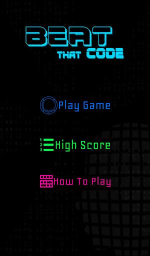Beat That Code - screenshot