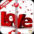 App Love Zipper Lock APK for Windows Phone