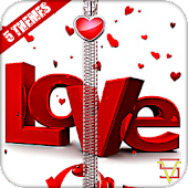 Love Zipper Lock APK for Bluestacks