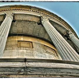 Columns in Philly by Mo Harmon - Buildings & Architecture Other Exteriors ( building, columns, manmade, stone, historic )