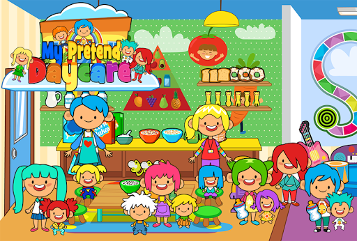 My Pretend Daycare - Kids Babysitter Games FREE For PC