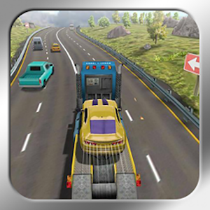 Traffic Racing Simulator 3D Icon