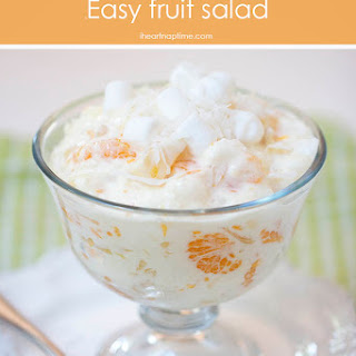 Marshmallow Fruit Cream Cheese Salad Recipes