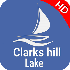 Clarks Hill Lake GA - SC GPS Fishing Map - Offline For PC / Windows 7/8/10 / Mac – Free Download