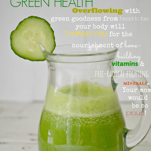 My Green Go-To Juice