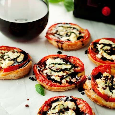Easy Caprese Tartlets