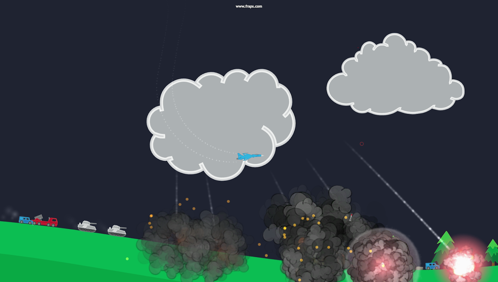 Atomic Fighter Bomber Pro Screenshot 2