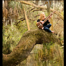 Enchanted Forest by James Eickman - People Musicians & Entertainers