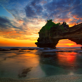 Slow by Kadek Jaya - Landscapes Waterscapes ( sky, sunset, cliff, rock, beauty in nature )