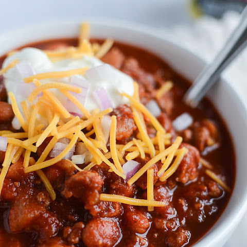 Smoky Bacon Chili