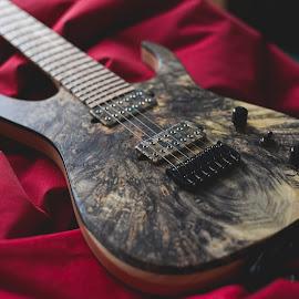 Keller guitars - buckeye burl custom 7 string by Igor Keller - Artistic Objects Musical Instruments (  )