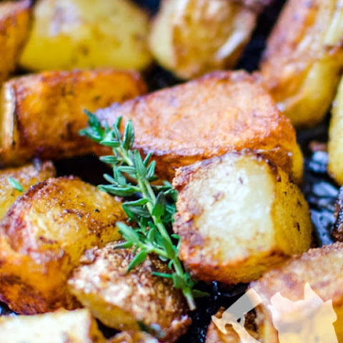 Braised Red Potatoes with Lemon and Chives