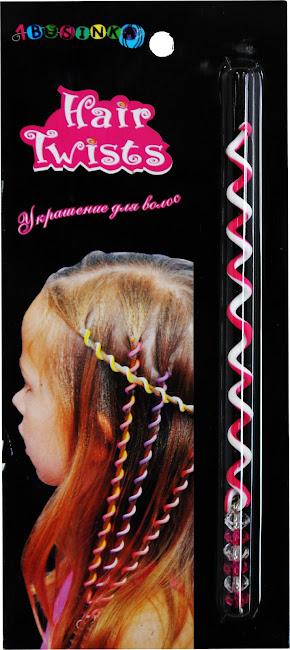 Украшение для волос, пружинка Hair Twist