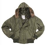 Короткая куртка Аляска N2B - Mil-TEC - оливковый