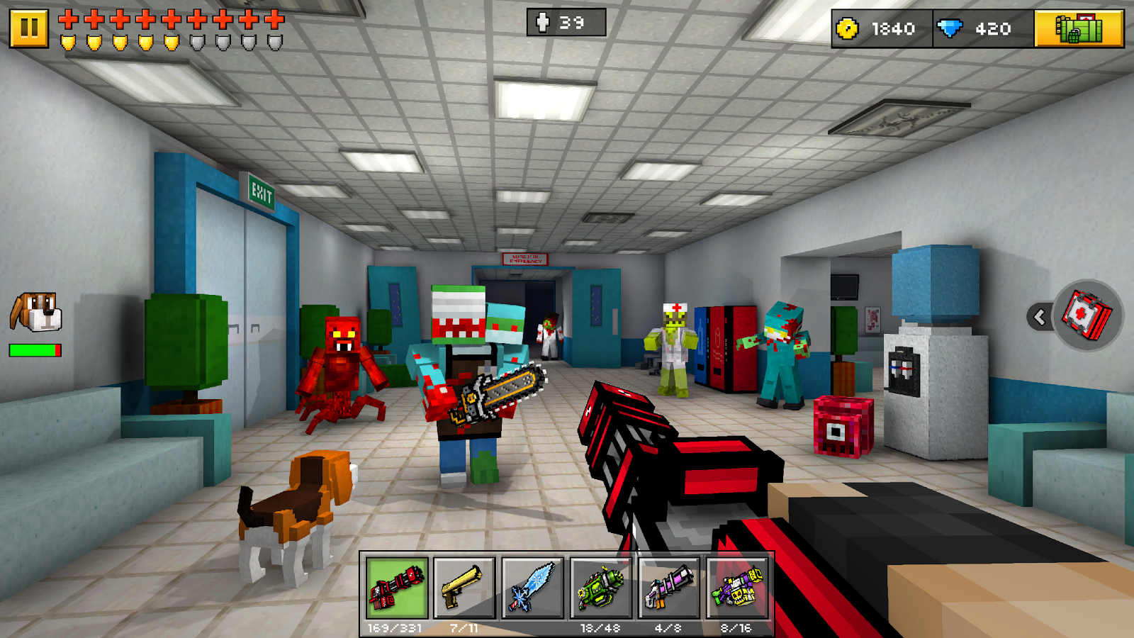 Pixel Gun 3D (Pocket Edition) Screenshot 12