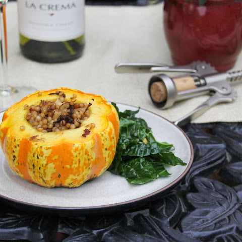 Mini-Stuffed Pumpkins with Middle Eastern Beef and Couscous
