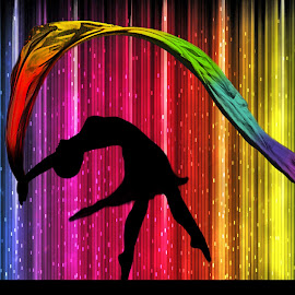 Rainbow Dancer by Ingrid Anderson-Riley - Illustration People