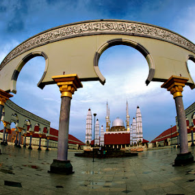 Great Mosque... by Imam Fauzi - City,  Street & Park  Vistas
