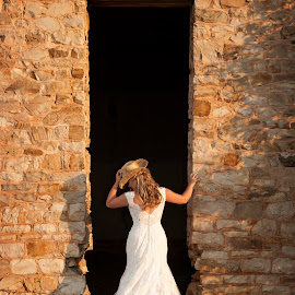 Bride by Melissa Papaj - Wedding Bride ( bridal, dress, wedding, rock, bride, country )