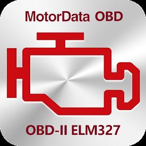 MotorData OBD Car Diagnostics. ELM327 OBD2 scanner For PC