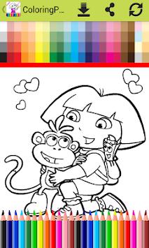 ColoringPages For Doraa Fans Apk Screenshot