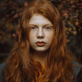 by Jhonny Visentin - People Portraits of Women ( photographer, portraits, redhair, photography, portrait )
