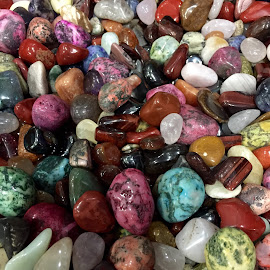 Colorful Stones by Lope Piamonte Jr - Artistic Objects Other Objects (  )