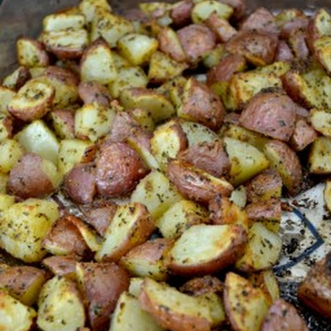 Roasted Garlic Baby Red Potatoes