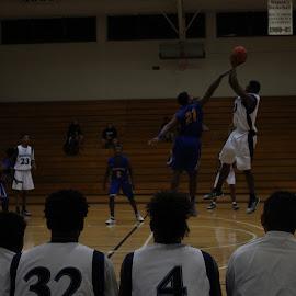 Over the Defense by Nathan Mannis - Sports & Fitness Basketball ( santa fe college basketball, santa fe college, santa fe saints )