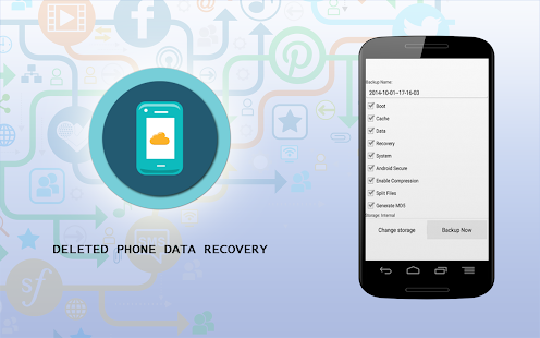 Deleted Phone Data Recovery - screenshot