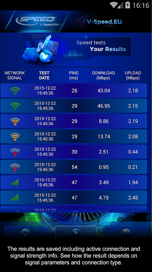 Internet Speed Test Screenshot 3