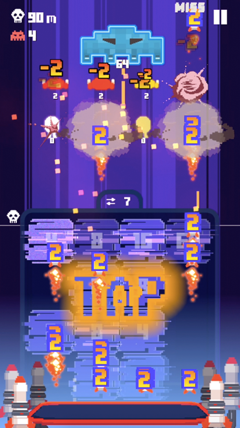 Invaders 2048 Screenshot 2