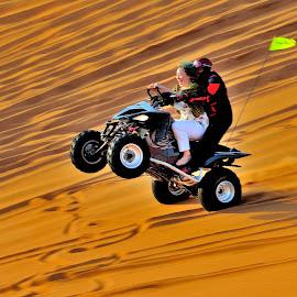Dunes race by Tomasz Budziak - Sports & Fitness Motorsports ( dunes, sports, motorsport )