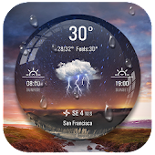 Download Weather Ball Lock Screen App APK on PC