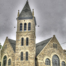 Ottawa Baptist Church by Jackie Eatinger - Buildings & Architecture Places of Worship (  )