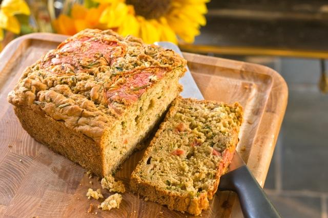 Vegan Savory Zucchini Bread