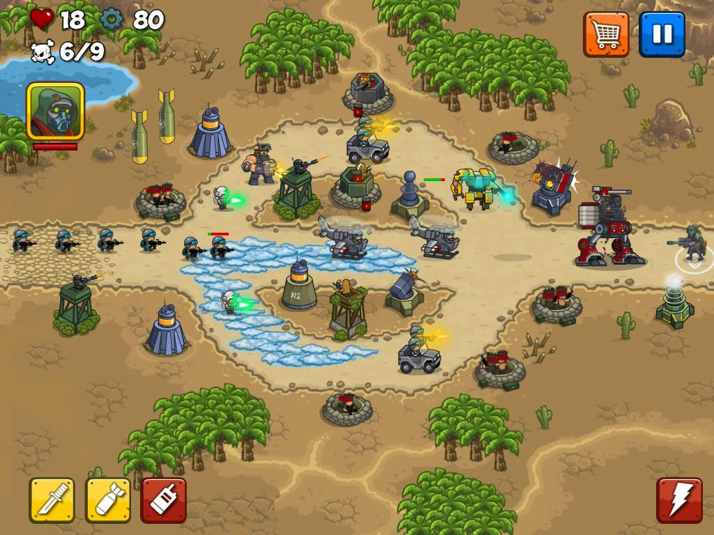 Combat Tower Defense Screenshot 10