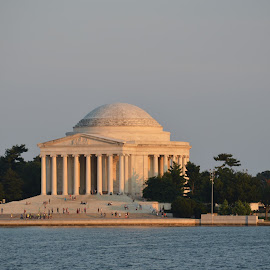 Jefferson Memorial by Michael Harris - Buildings & Architecture Public & Historical