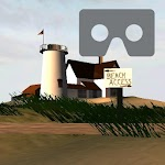 Beach for Google Cardboard Icon