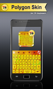 Polygon Skin for TS Keyboard - screenshot