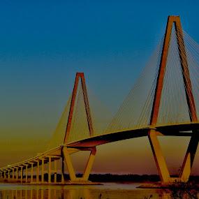 by Hugh McLaren - Buildings & Architecture Bridges & Suspended Structures (  )