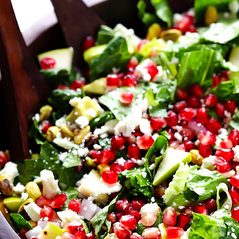 Pomegranate, Pear and Avocado Salad