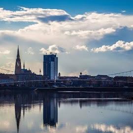 Bridge in the Osijek by Maja Candrlic - City,  Street & Park  City Parks