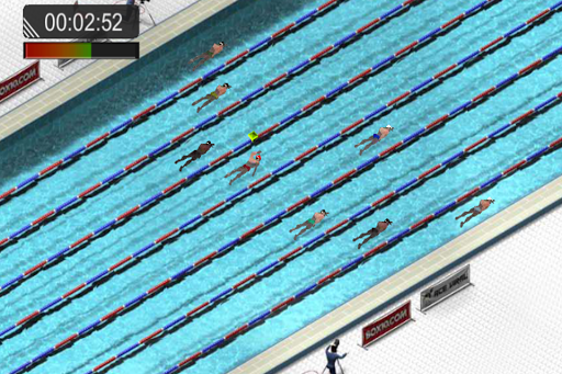 Swimming Race 2016 screenshot 5