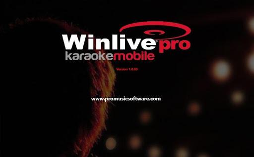 Winlive Pro Karaoke Mobile - screenshot